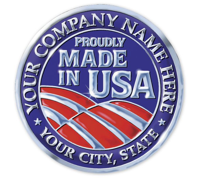 FSEMA2-Personalized Made in America Seal Rolls MA-2FSEMA2