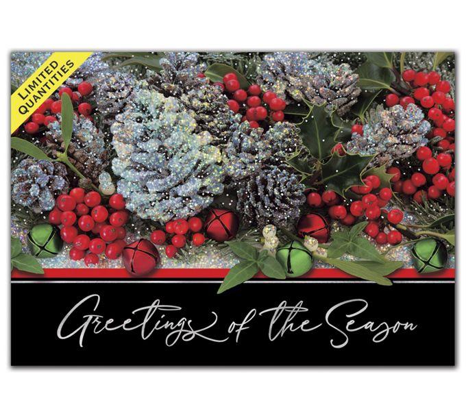 Winter Treasure Holiday CardsH08615