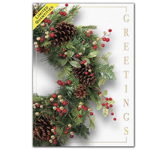 Door Decor Holiday CardsH08649