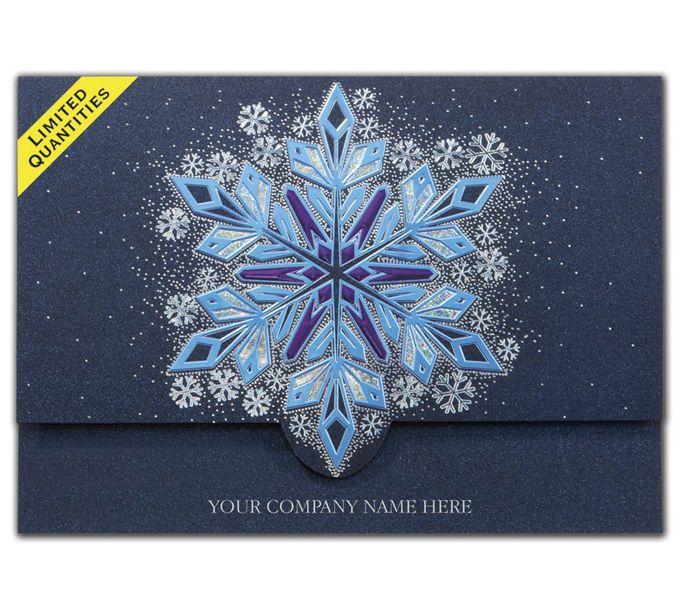 Flickering Flakes Holiday CardsH15605