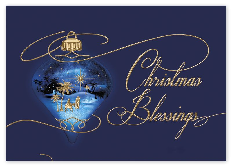 Beyond Blessed Christmas Cards | Deluxe