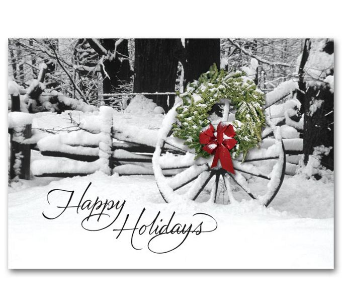 Welcoming Sight Holiday CardsH58860