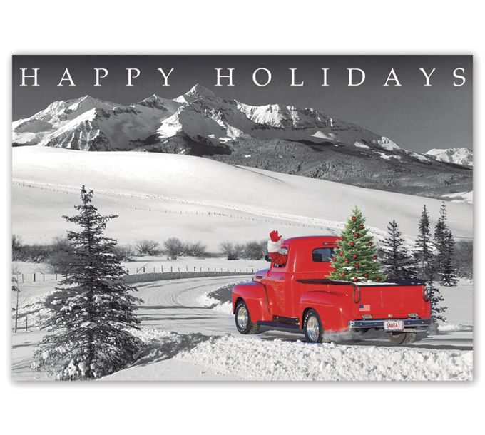 Classic Claus Holiday CardsHP16303