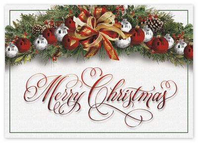 color me merry christmas cards - Christmas Cards