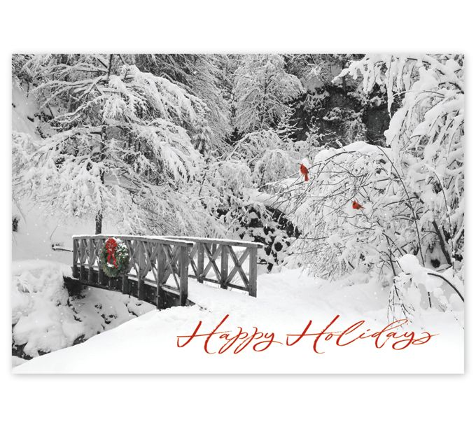 Peaceful Perch Holiday CardsHP17311_N7311