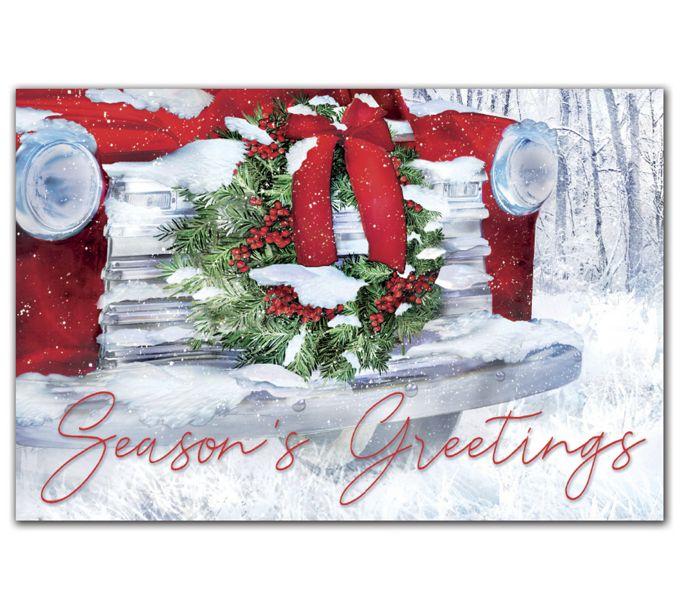 Hood Ornament Holiday PostcardsHPC2214