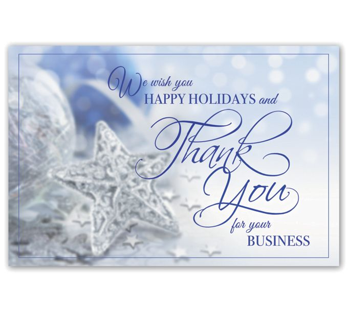 Thankful Stars Holiday PostcardsHPC8211