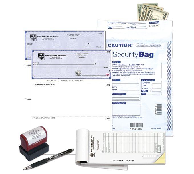 HSLKQ-High Security Starter Kit , Laser Checks, QuickbookHSLKQ