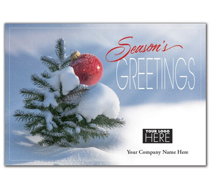 Mighty Green Tree Holiday Logo CardsMT09005
