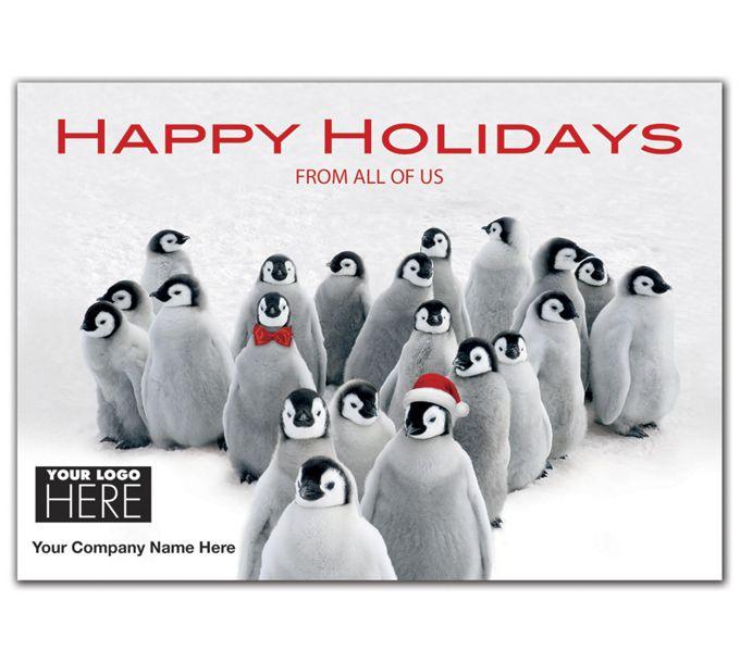 Penguin Parade Holiday Logo CardsMT15019