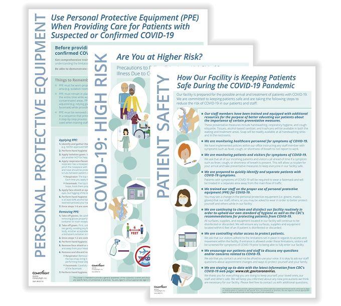 Healthcare Professionals COVID-19 - Poster SetN0172