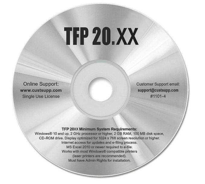 2021 Tax Form SoftwareTF1101
