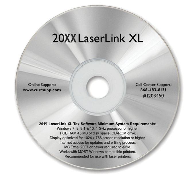 2021 LaserLink XL Tax SoftwareTF12034