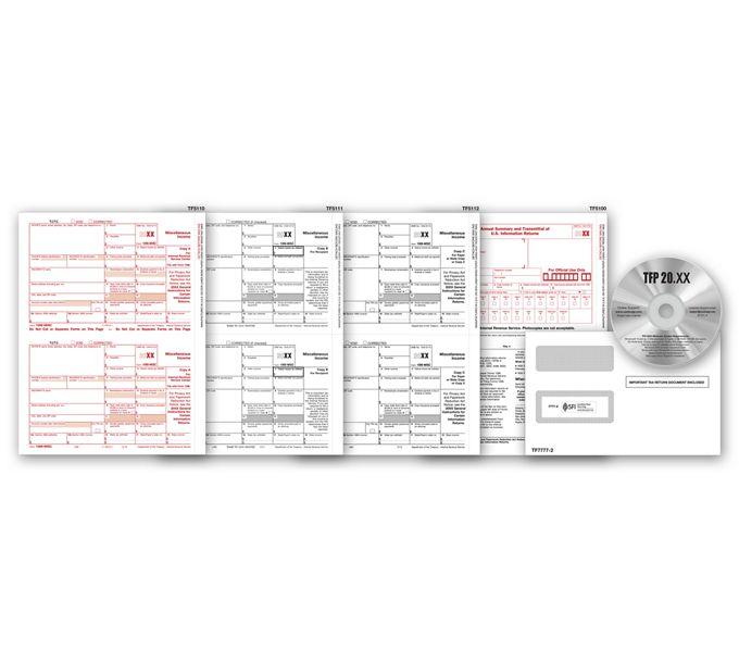 2021 Laser 1099 Tax Form & Tax Software BundleTF7105