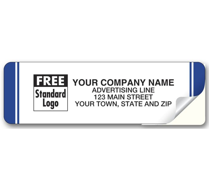 WIL8W-Weather-Resistant Advertising Labels, Roll, LaminatedWIL8W