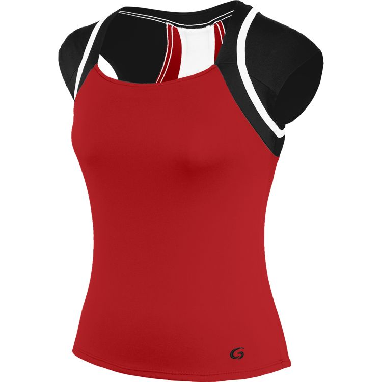 Intensity Cap Sleeve Tank