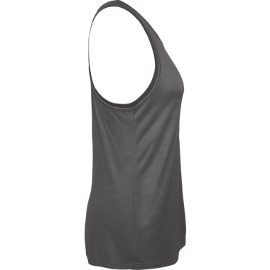 Polyester/Rayon Flowy Tank w/Keyhole Racerback and w/Logo on Front (Women/Girls)