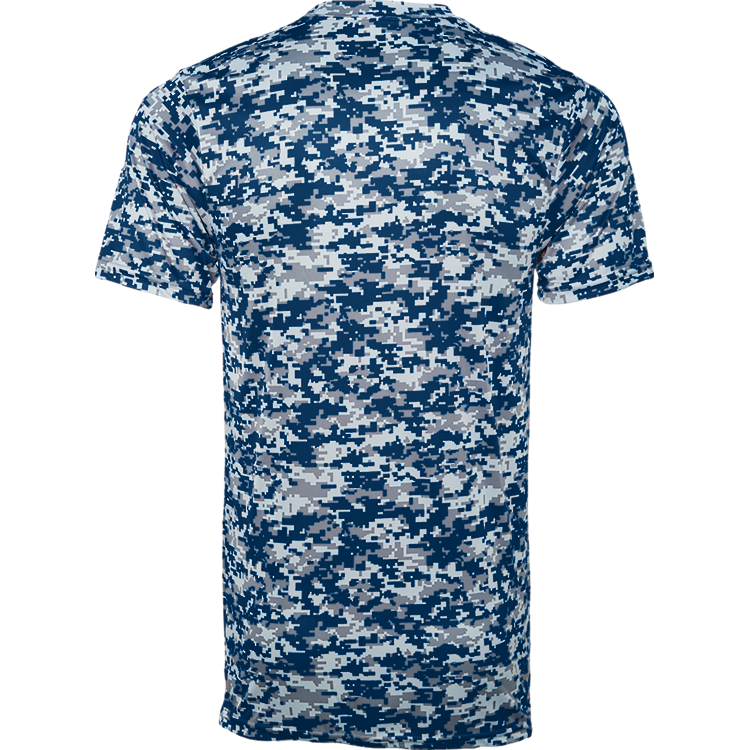 Digital Camo Wicking Tee