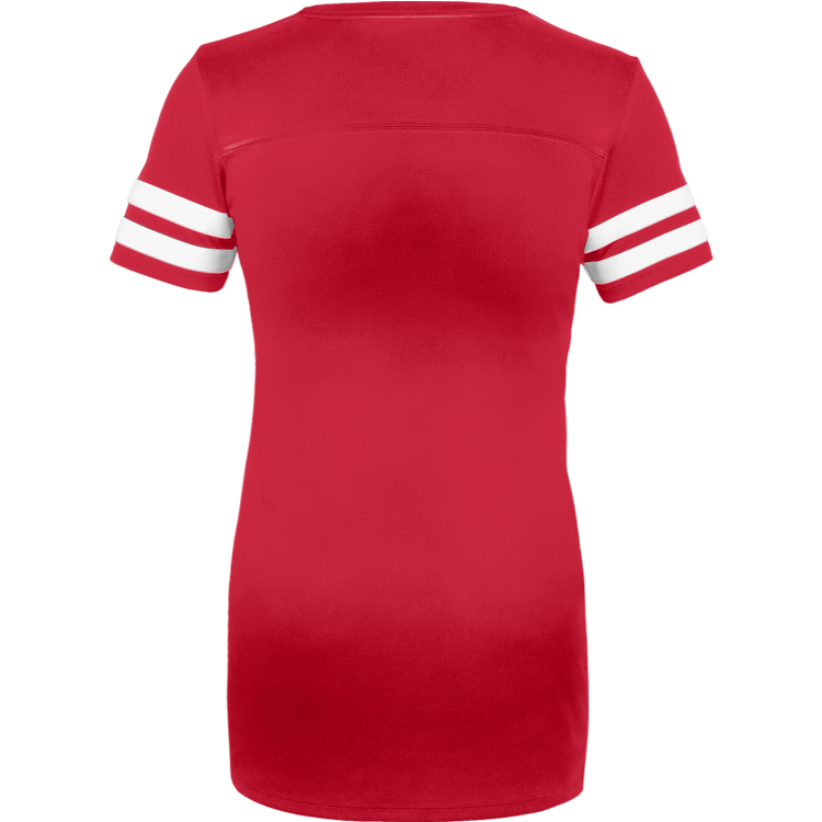 GO FIGHT WIN RED JERSEY DRESS