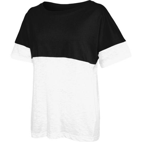 4fb33b4d342fc Short Sleeve Campus Tee - Black White
