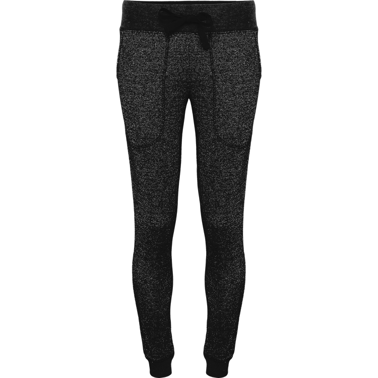 Plain Glitter Fleece Jogger
