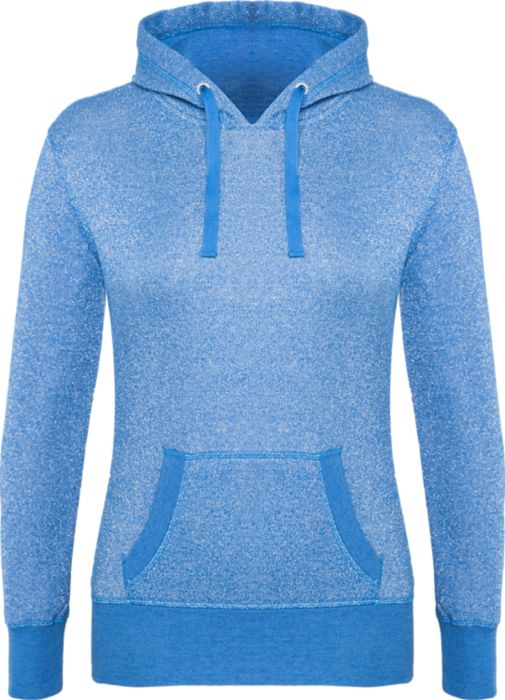 Blue Glitter French Terry Hoodie