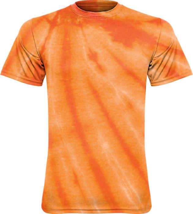Adult & Youth Orange Tie Dye Cotton Tee