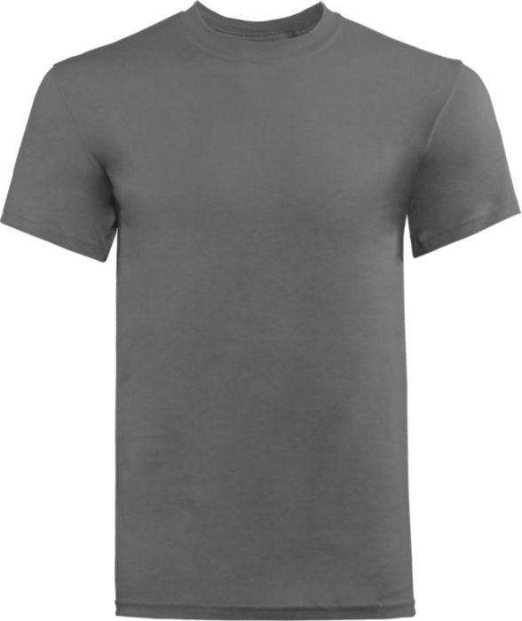 T-Shirt in White w/ Screen Print Logo