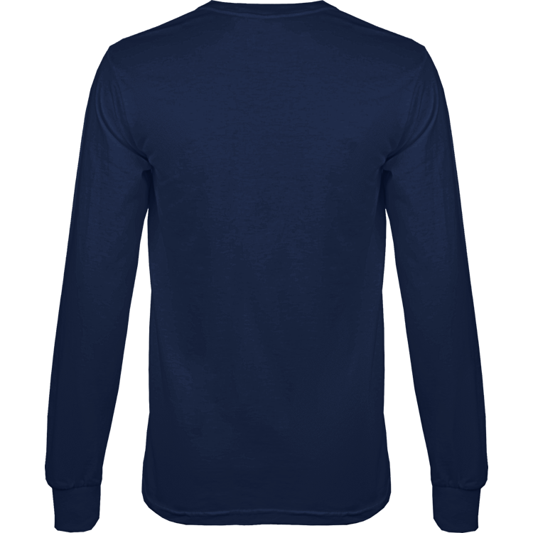 Mens Tagless Long Sleeve Tee