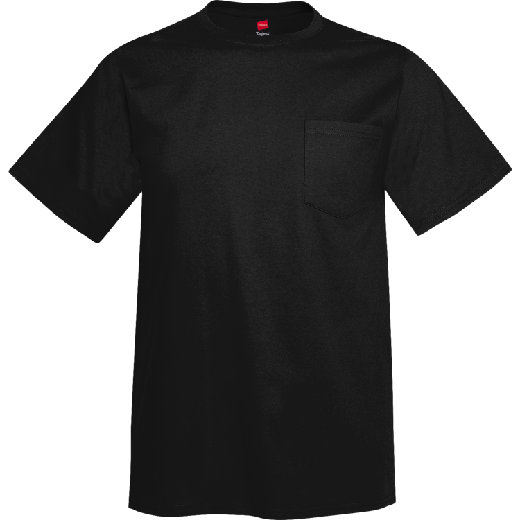 Tagless® Short Sleeve Pocket Tee