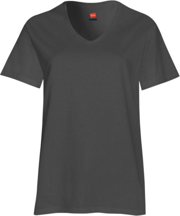 Tagless® V-Neck Short Sleeve Tee