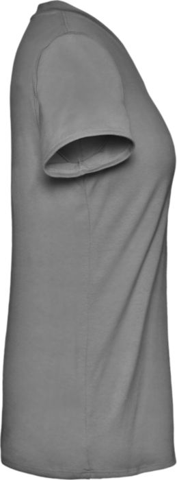 Women's VNeck Tee with Silver