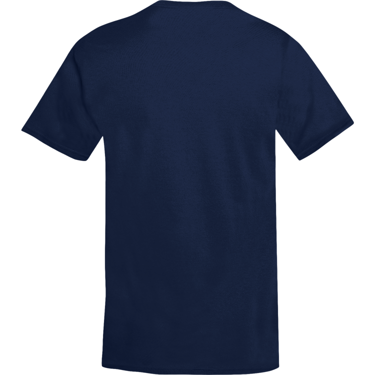 Embroidered Logo Navy T