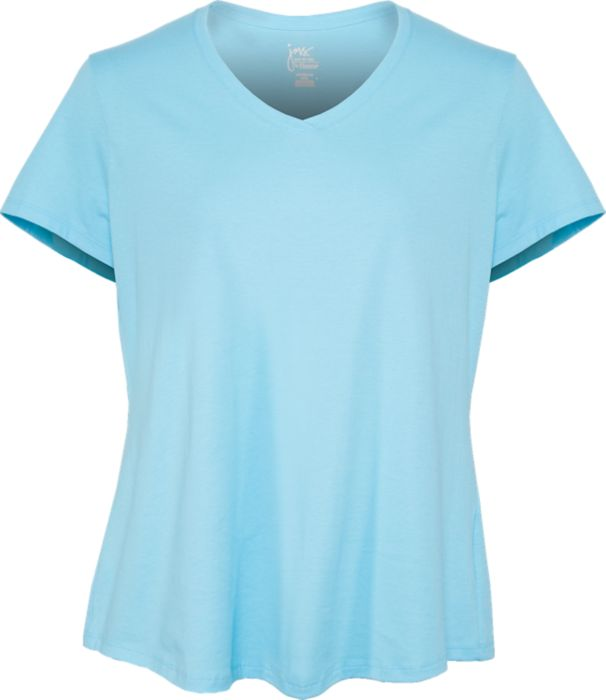 Jersey Short Sleeve V-Neck Tee