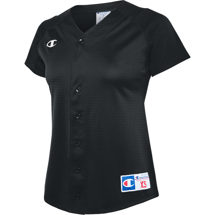 Full Button Short Sleeve Jersey