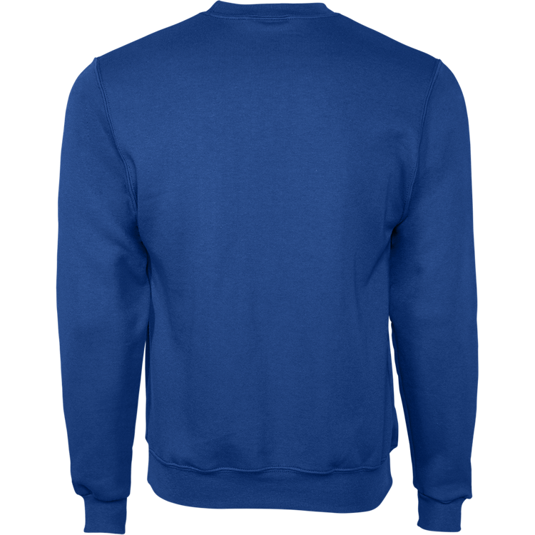 Royal Crew Neck Sweatshirt w/Glitter
