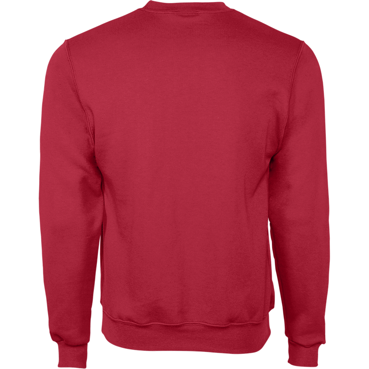Red Crewneck Sweatshirt w/Glitter