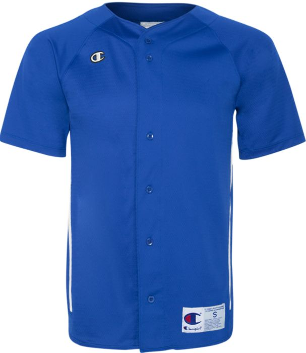 Prospect Full Button Baseball Jersey