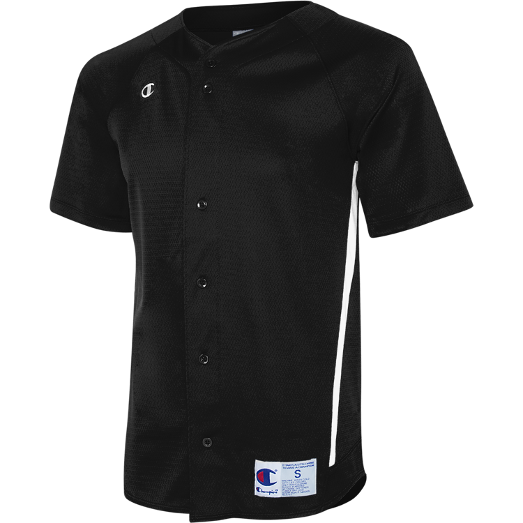 Prospect Full Button Baseball Jersey