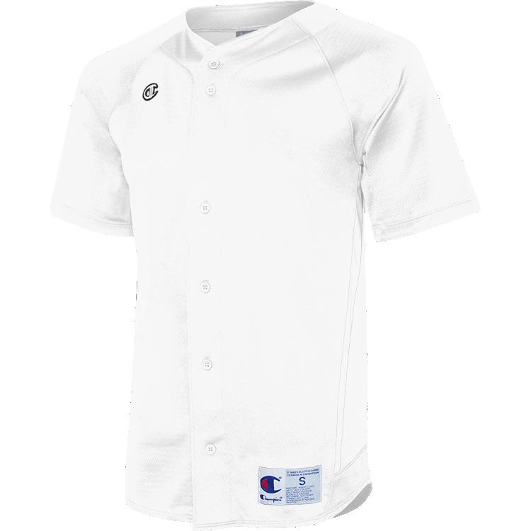 Prospect Full-Button Baseball Jersey