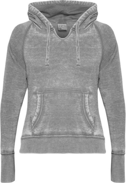 Raglan Hooded Pullover