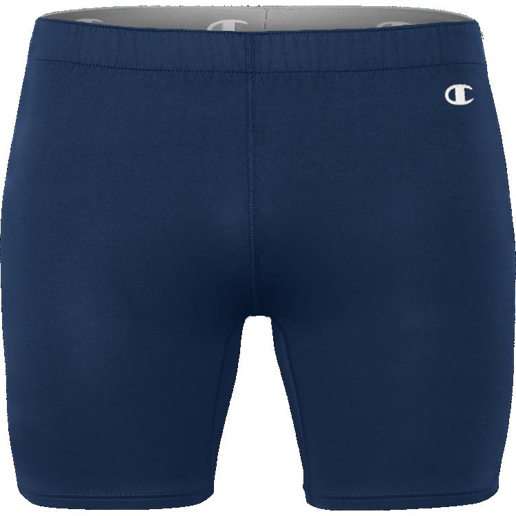 Navy Champion Compression Shorts