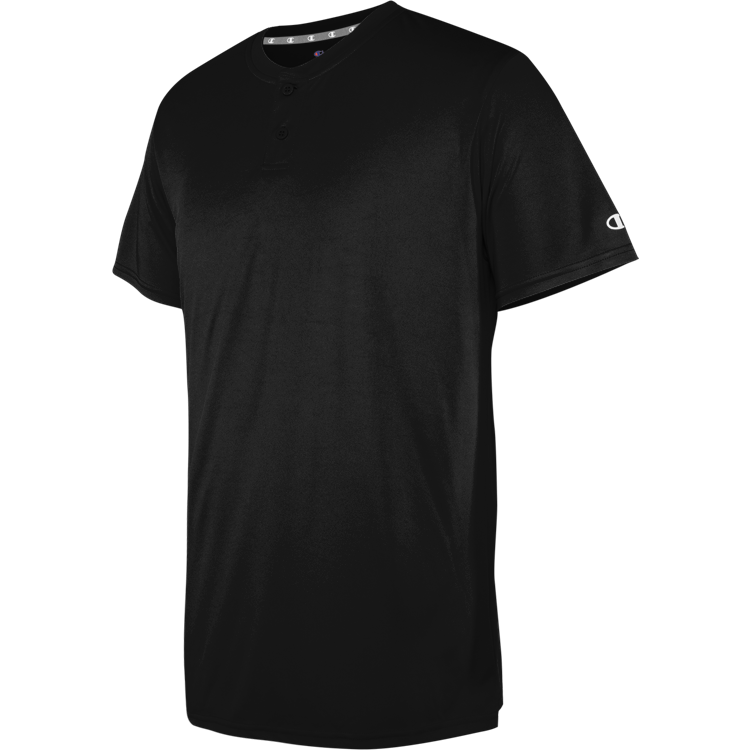 Two-Button Henley Jersey