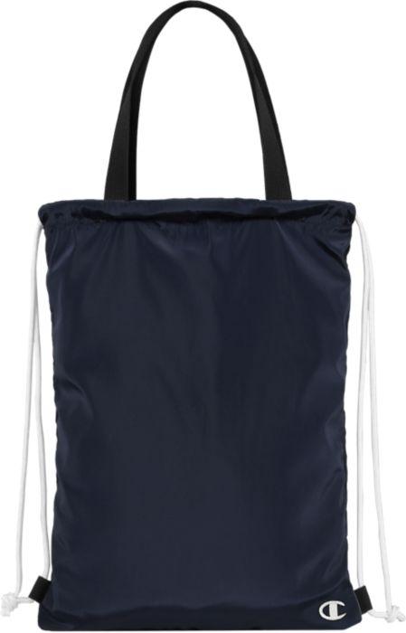 Black/Black Sling Bag w/Embroidery Logo