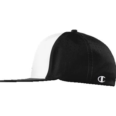 Champion Stretch Fit Flat Bill Hat