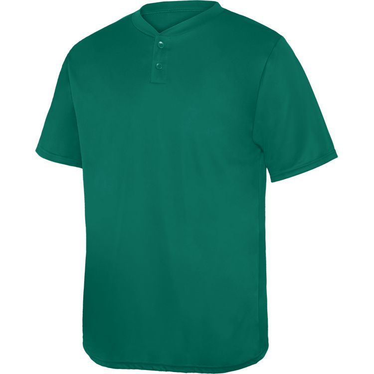 Augusta Wicking Two-Button Jersey 60a6d84fa