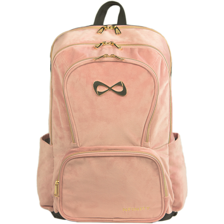 Dusty Rose Gold Backpack