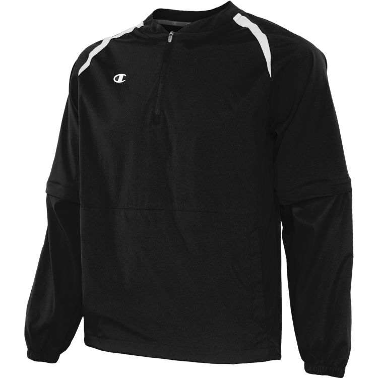 Convertible 1/4 Zip Jacket