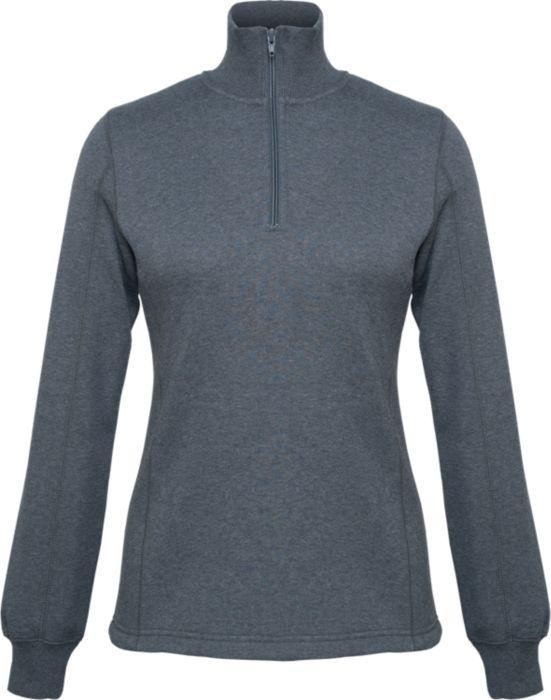 Ladies Sport Tek 1/4 Zip Fleece GREY Adult Sizes