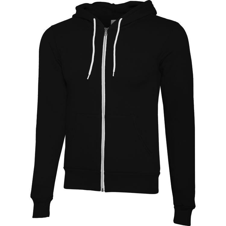 Unisex Full-Zip Hoodie